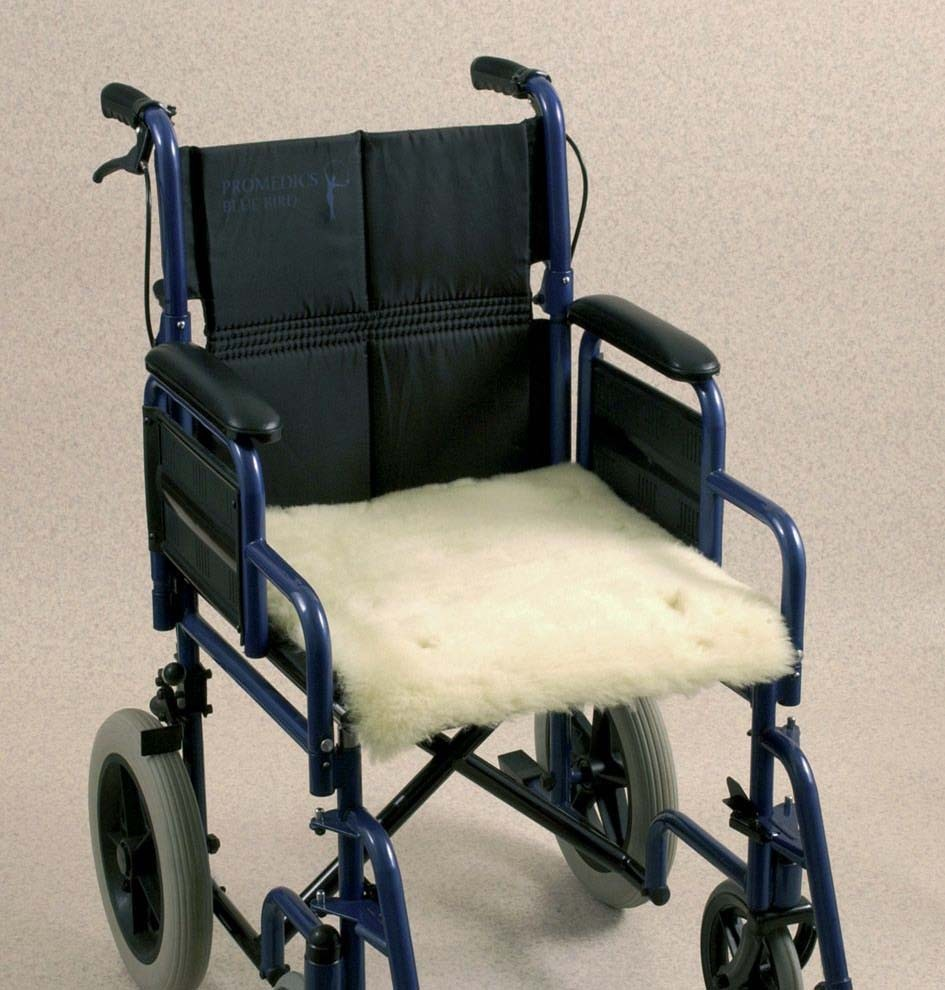 Wheelchair Seat Cover - Fleece