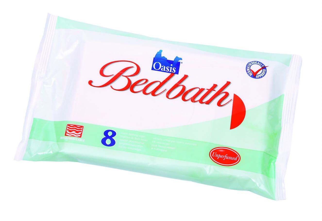 Oasis® Bedbath Wipes perfumed - 1 x 8 wipes