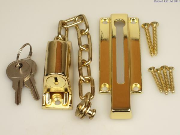 Locking Door Chain