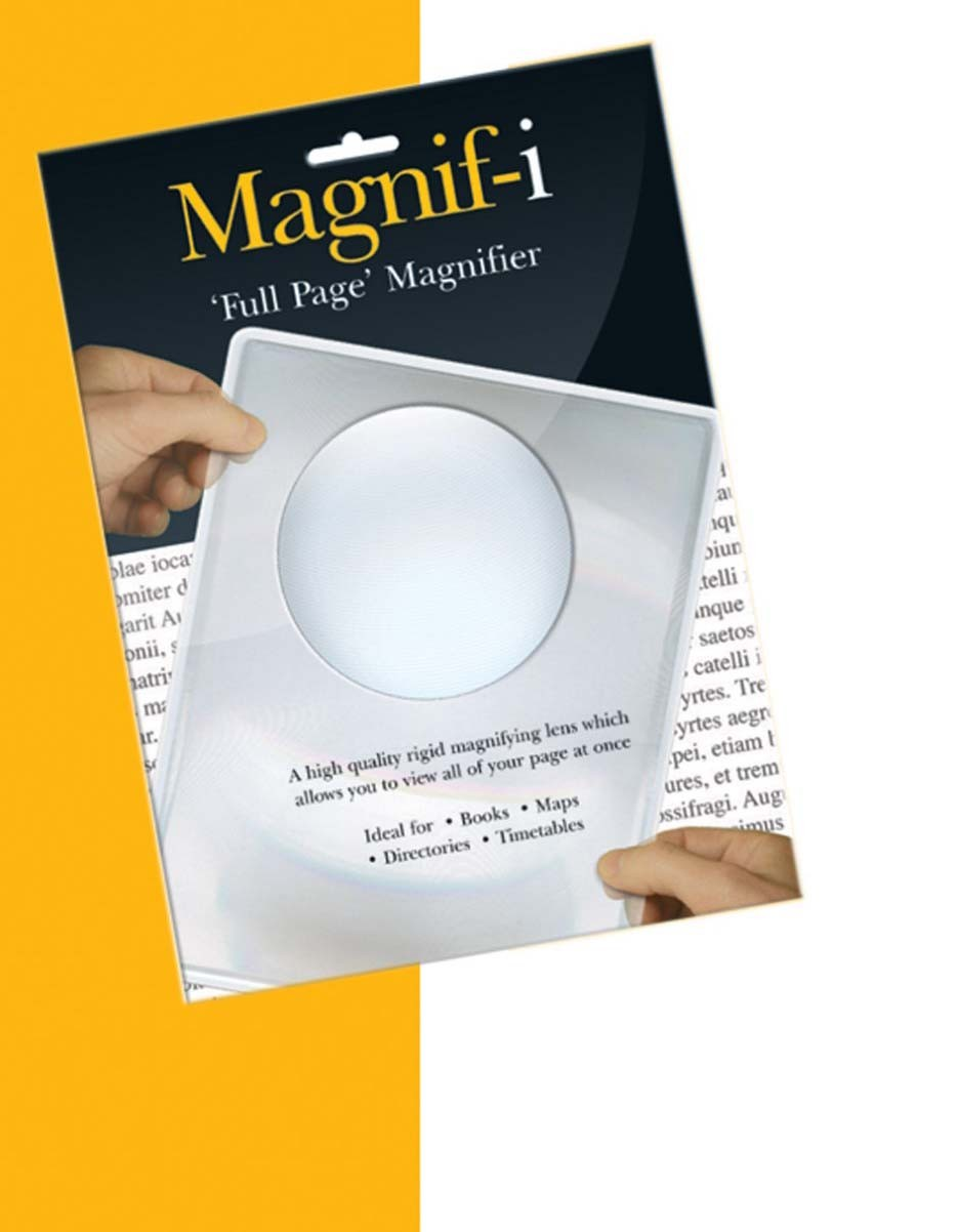 Full Page Magnifier