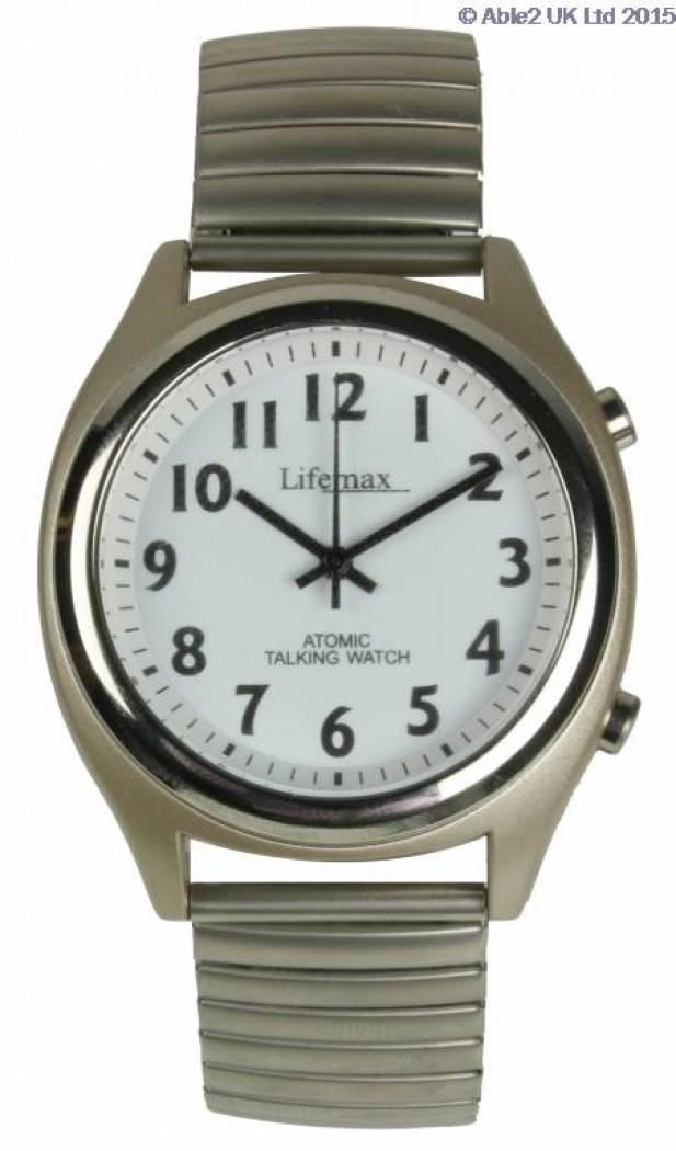 Talking Atomic Watch - Expanding Bracelet