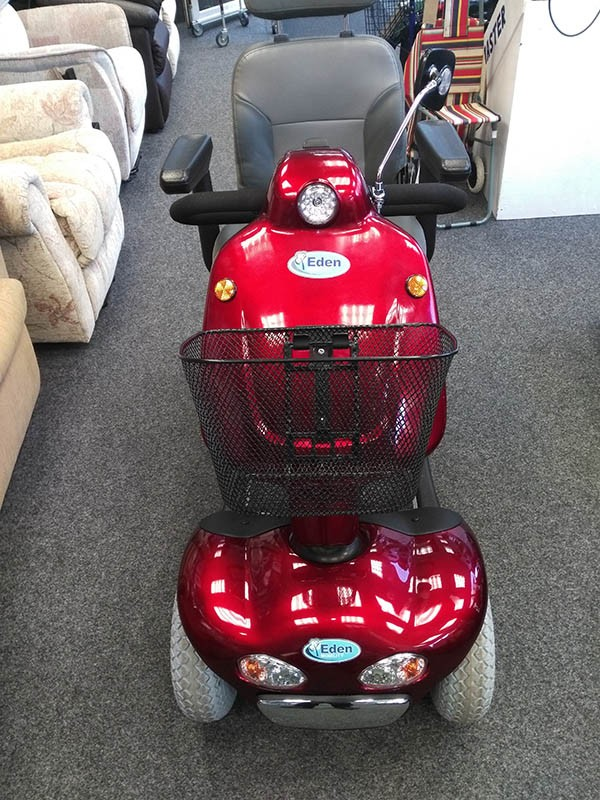 Shoprider Cadiz Red