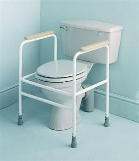 Adjustable Height Toilet Surround