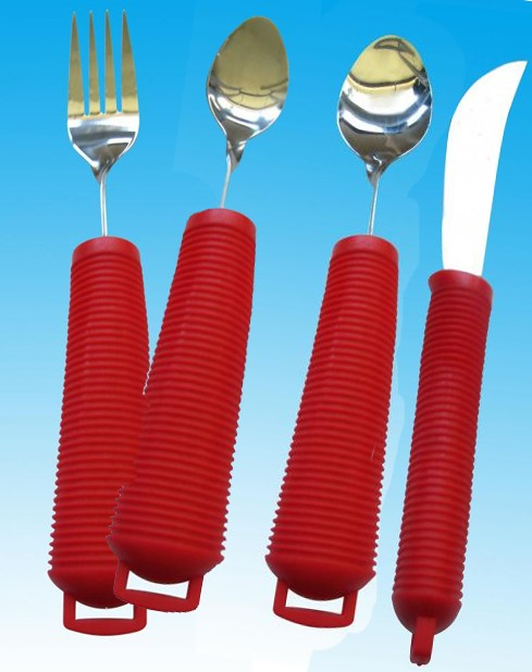 Red Handled Cutlery