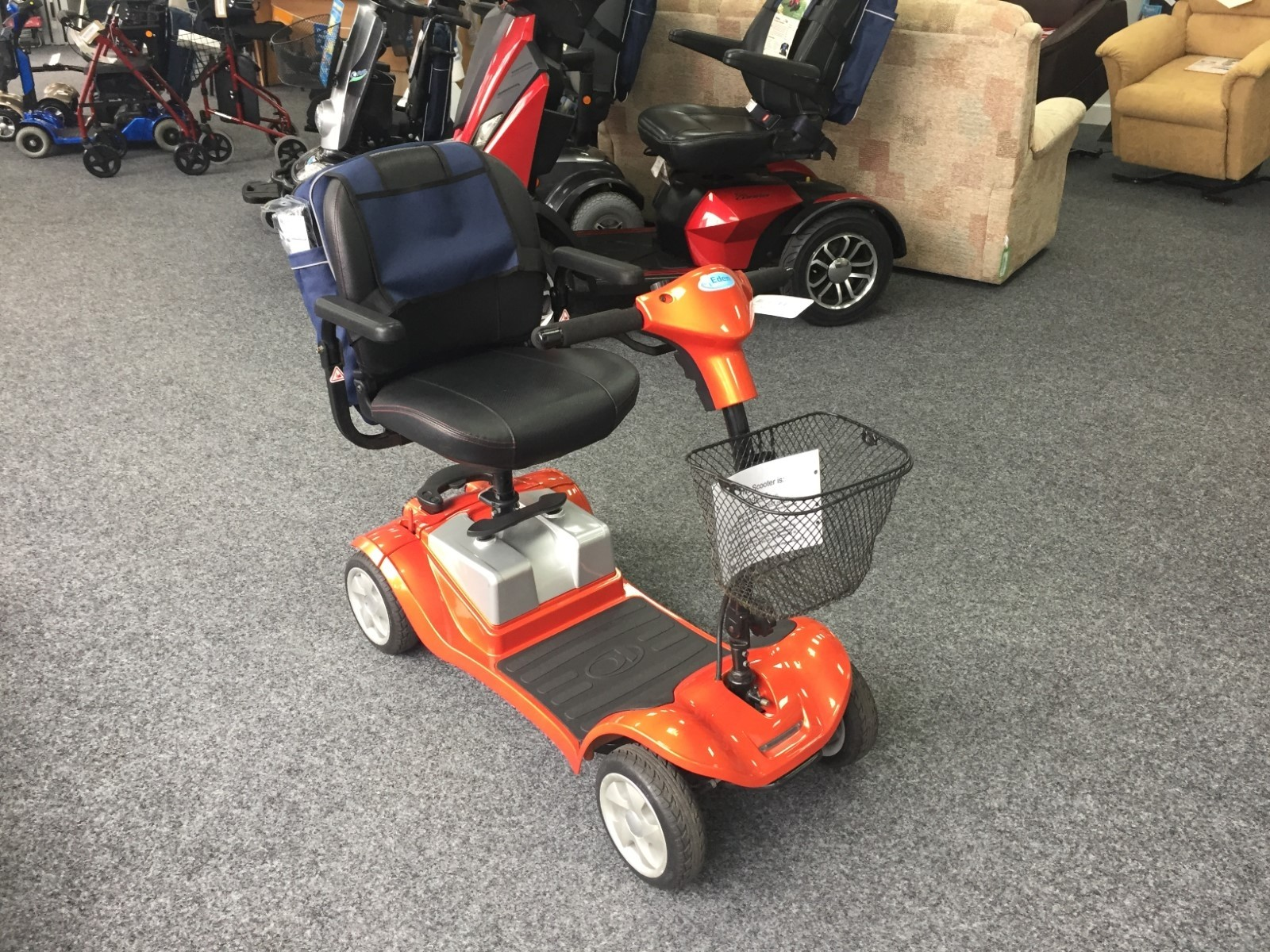 Mini LS Orange | Pre-Owned Mobility Scooter | Finance Available!