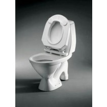 Fixed Raised Toilet Seat