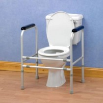Adjustable Toilet Surround