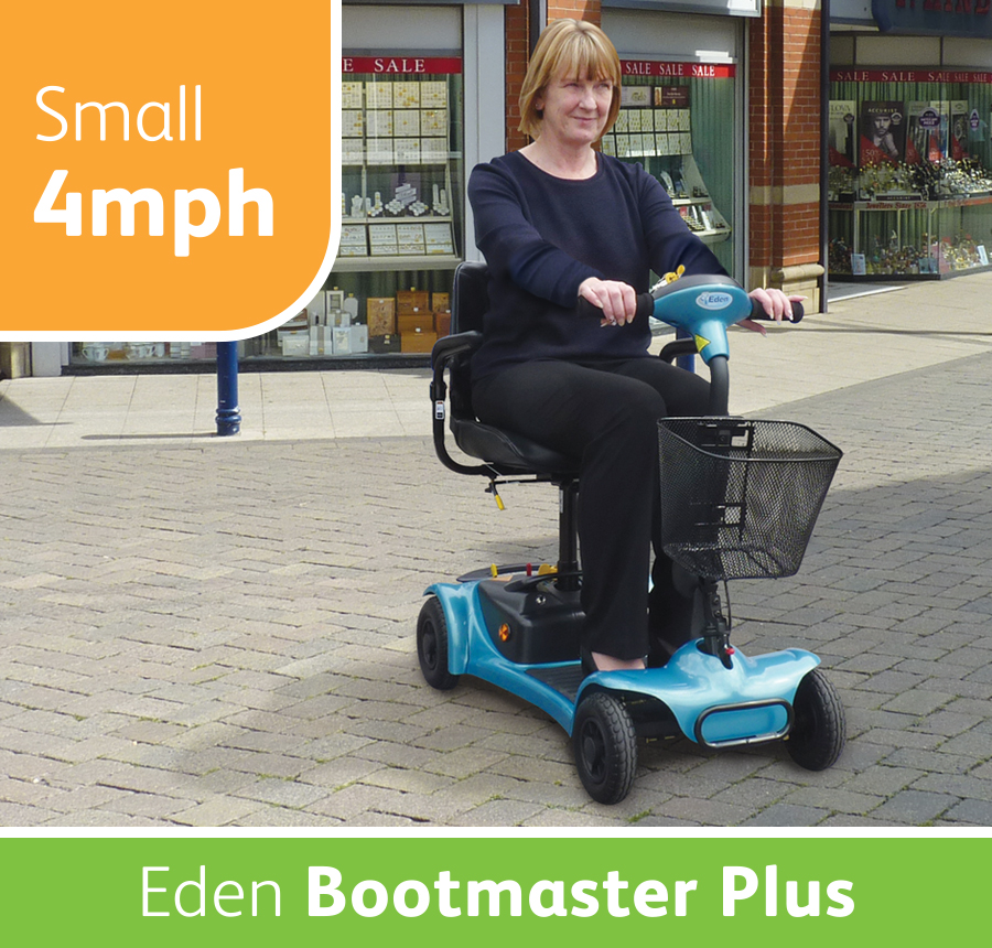 Eden Bootmaster Plus Mobility Scooter