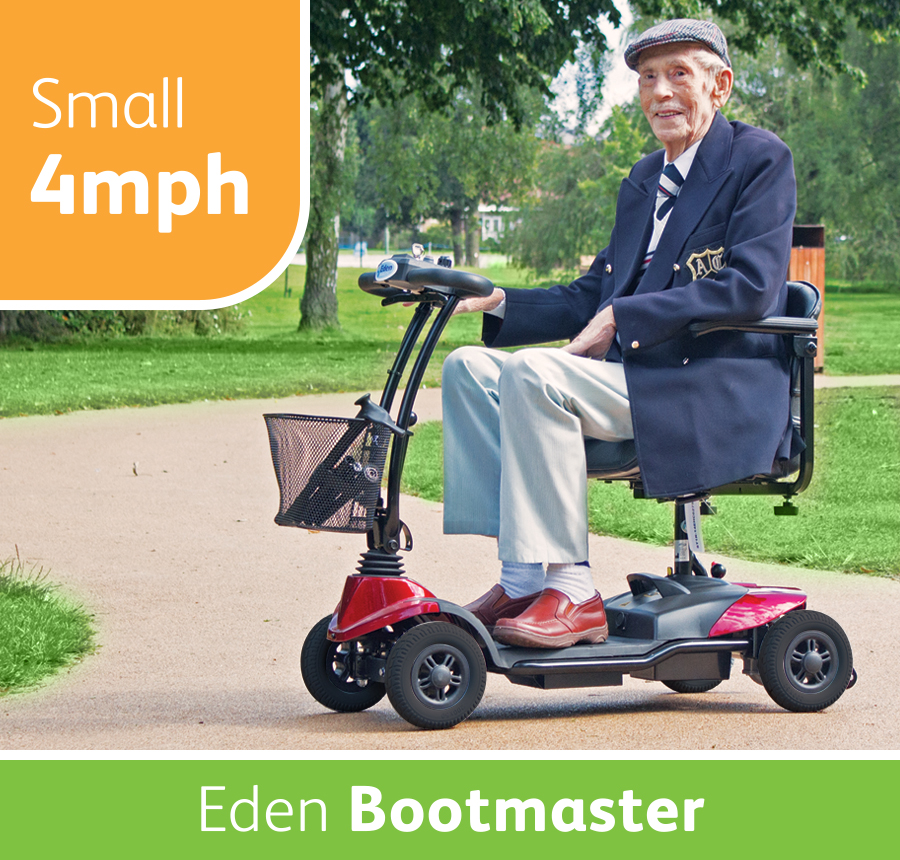 Eden Bootmaster Mobility Scooter