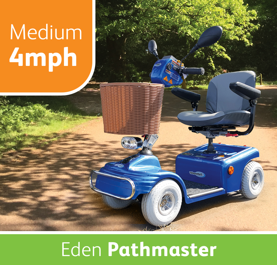 Eden Pathmaster Plus Mobility Scooter