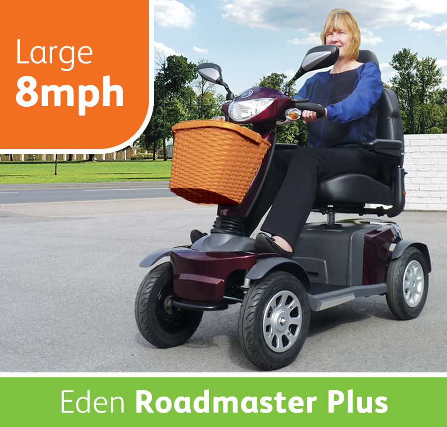 Eden Roadmaster Plus Mobility Scooter