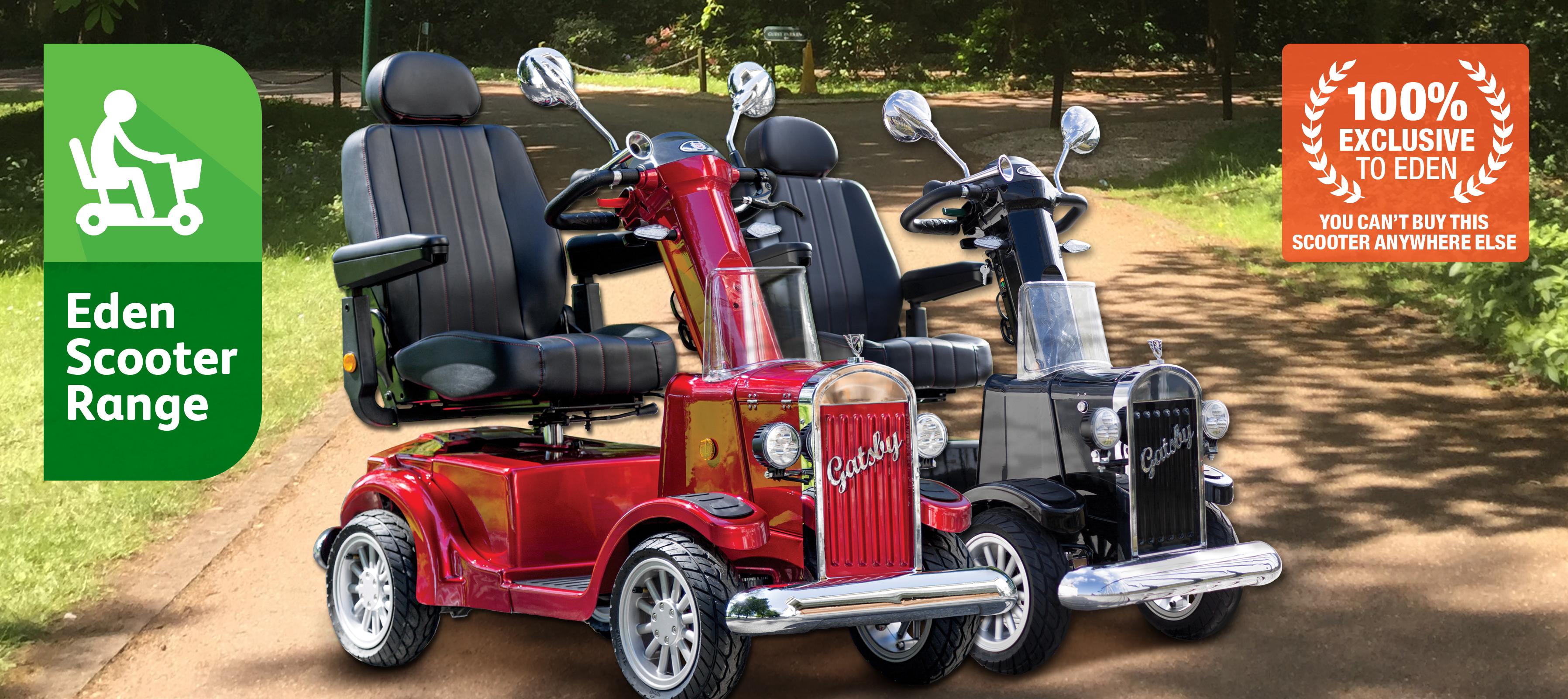 Eden Gatsby Mobility Scooter Header