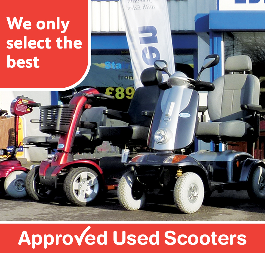 Eden Approved Used Mobility Scooters