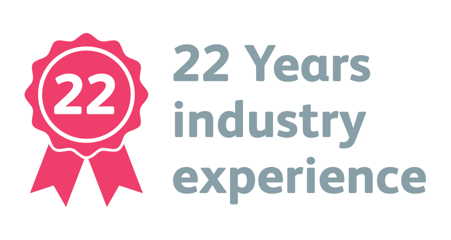 22 Year Industry Experience
