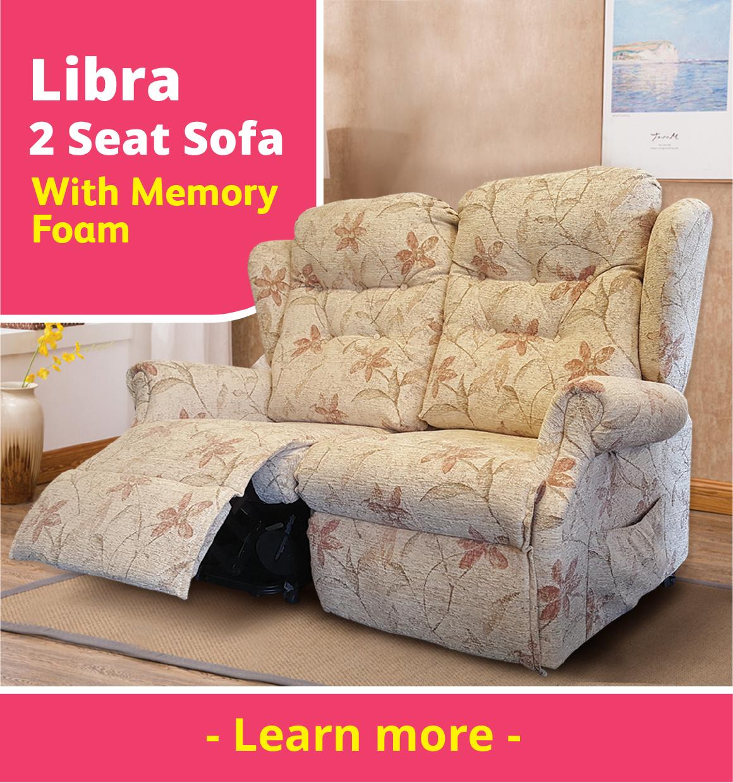 Eden Libra 2 Seat Sofa
