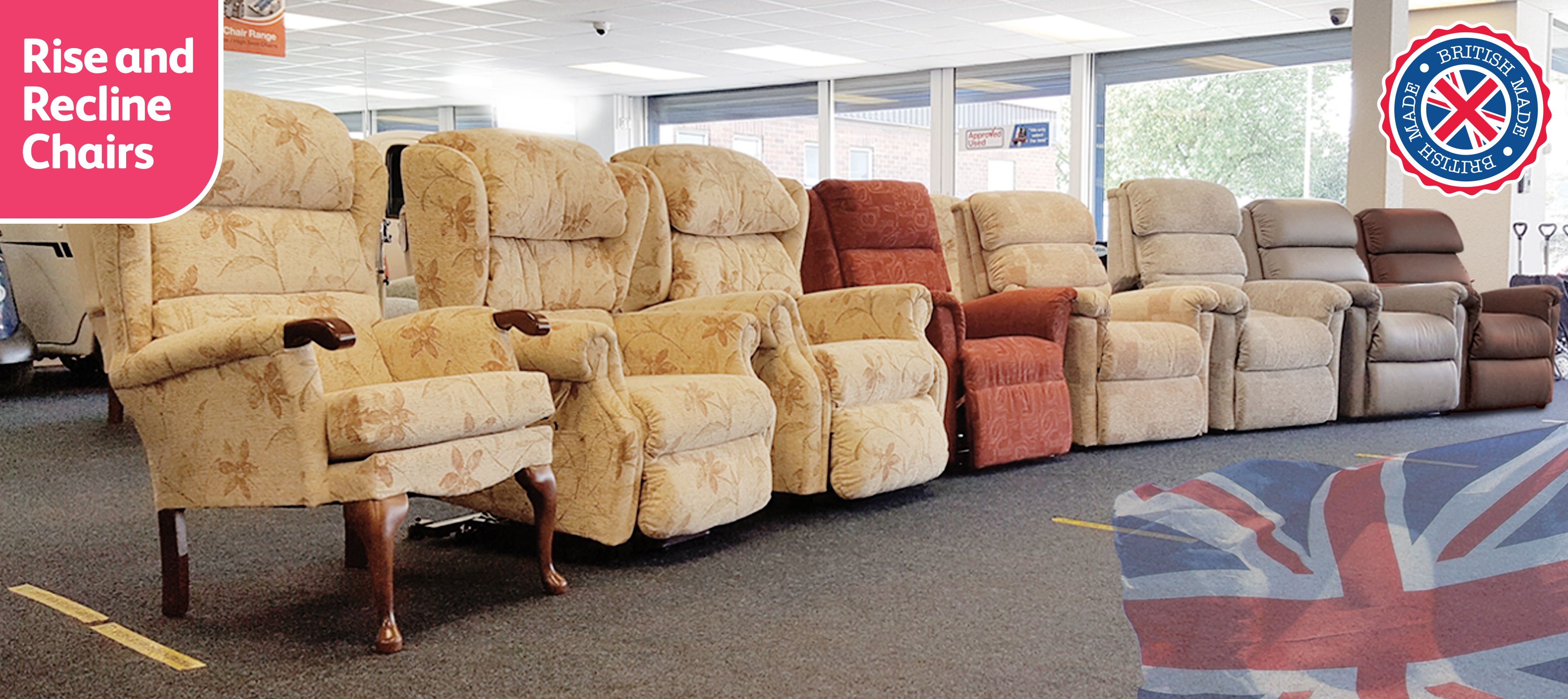 Rise & Recliner Chairs Header